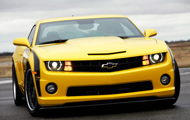 2010 HPE700 LS9 Camaro Rally Yellow