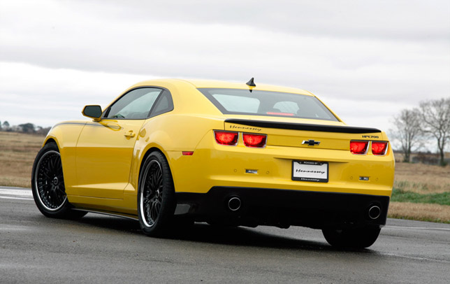 Hennesey Presents 2010 Hpe700 Ls9 Camaro Rally Yellow