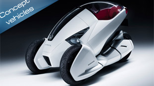 Honda presents 3R-C design study vehicle