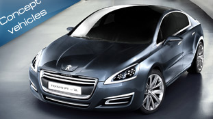 5 by peugeot - the luxurious future saloon