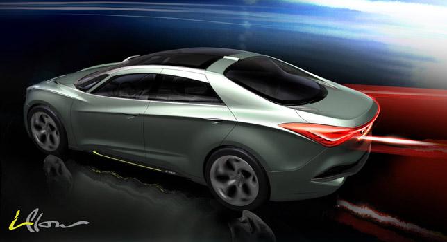 Hyundai i-flow concept saloon