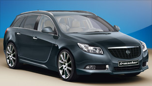 irmscher retrofits the opel insignia sports tourer