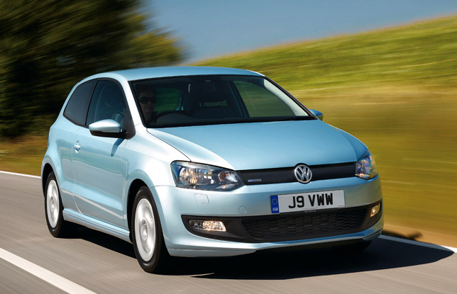 2010 vw polo bluemotion the most efficient one. Black Bedroom Furniture Sets. Home Design Ideas