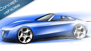 Pininfarina Spider Concept Car to debut at Geneva 2010