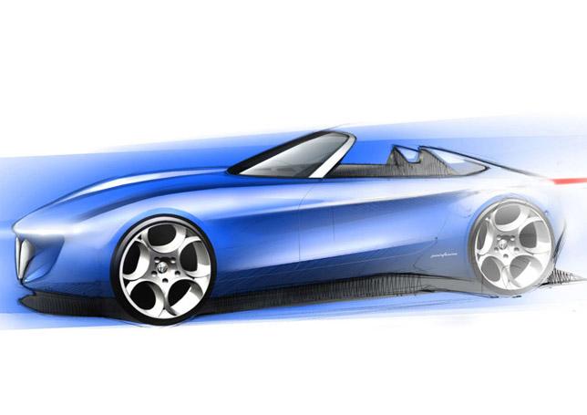 Pininfarina Alfa Romeo Spider concept car
