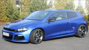 B&B transforms the sporty Scirocco R into a real dream car