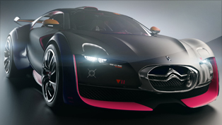 Citroen Survolt Concept - the future eco-friendly sportscar