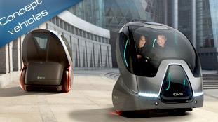 General Motors presents emissions free EN-V concept