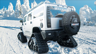 geigercars hummer h2 bomber - the ultimate off-roader