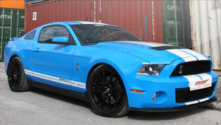 GeigerCars Shelby GT - American muscle with German flavour