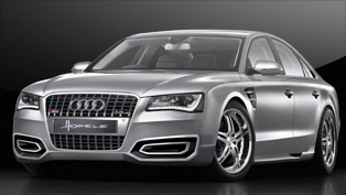 hofele-design restyles the all-new audi a8 luxury sedan