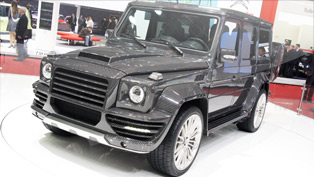 mansory goes 100% carbon with the astonishing g-couture