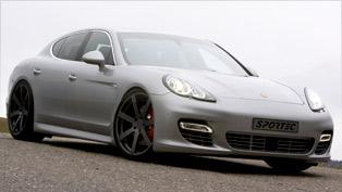 Sportec tweaks the luxurious Porsche Panamera