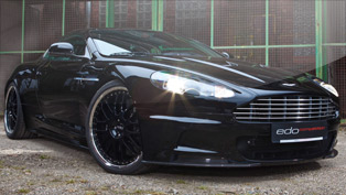 edo presents its custom fitted Aston Martin DBS