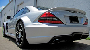 renntech mercedes-benz sl65 v12 bi-turbo black series