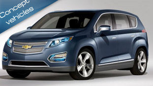 Chevrolet presents Volt MPV5 Electric Concept at Auto China 2010 in Beijing