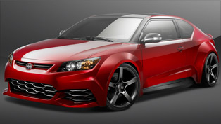 five axis presents highly-modified 2011 scion tc