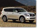 Infiniti shows its 2011 QX56 high-end SUV