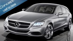 Mercedes shoots off the Shooting Break concept ride