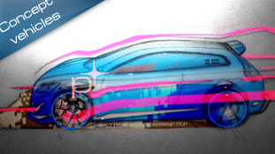 Polestar teases 400 hp Volvo C30 Concept