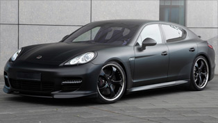 techart releases black edition styling program for the panamera turbo
