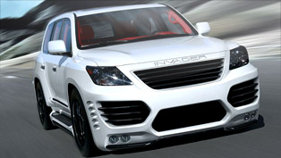 ASI transforms the Lexus LX 570 into an INVADER