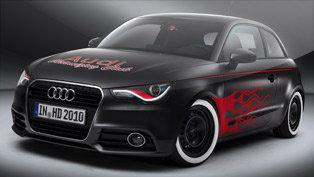 Audi presents fresh styled A1s ahead of Worthersee 2010