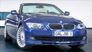 Alpina B3 S Bi-Turbo says - hello UK