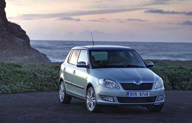 Furthermore, the Skoda Fabia Estate GreenLine II and Skoda Roomster