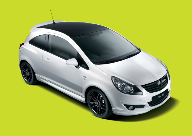 Vaxhall Corsa Black & White Limited Edition is price-tagged at £13995 for