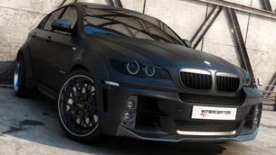 bmw x6 interceptor - a bold creation by met-r