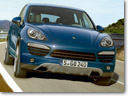 Revised diesel and petrol engines for the new Porsche Cayenne