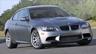 BMW rolls-out a special 2011 M3 Frozen Gray Coupe