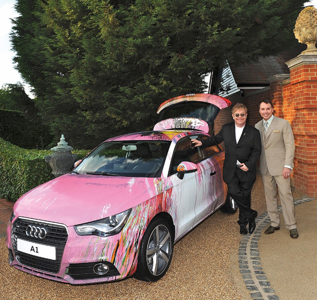 Audi A1 By Damien Hirst Sold For 420 000 Euro