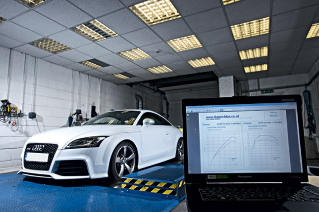 Audi TT RS  Superchips