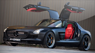 kicherer unveils a ultra-powerful sls supersport black edition