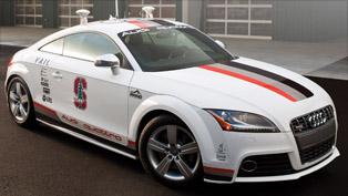 Audi wraps its Autonomous TTS in special motosport livery