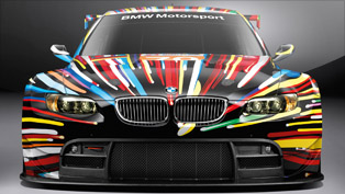 Special Interview with Jeff Koons about BMW M3 GT2 Art
