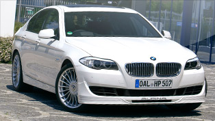 2011 Alpina B5 Bi-Turbo officially unwrapped