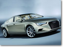 Audi A7 Sportsback will make its world debut at the art museum Pinakothek der Moderne