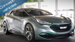 Hyundai i-Flow at Goodwood Festival of Speed