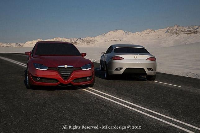 Alfa Romeo Vittorio Jano Concept 02