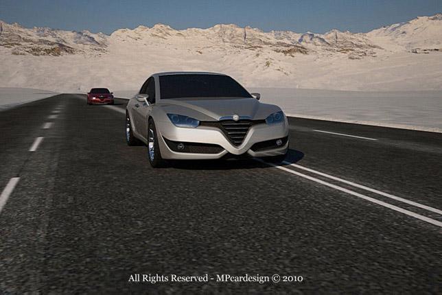 Alfa Romeo Vittorio Jano Concept 04