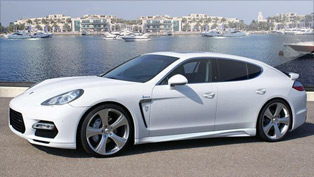 hofele-design unveils the rivage gt 970 panamera conversion