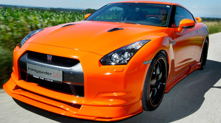 konigseder makes nissan gtr r35 stunningly beautiful