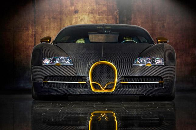 2010 Bugatti Veyron Linea Vincero dOro