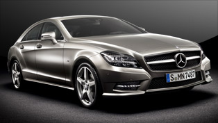 2012 Mercedes-Benz CLS strikes ahead of Paris 2010