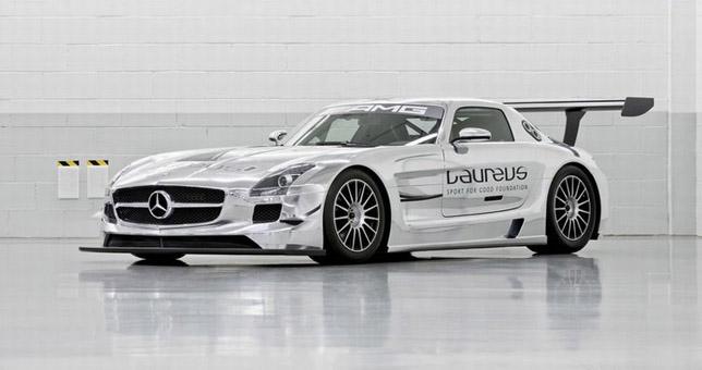 Mercedes Benz SLS AMG GT 3 Racer 01