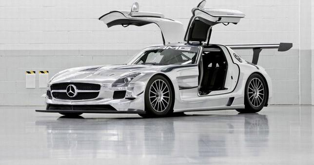 Mercedes Benz SLS AMG GT 3 Racer 02