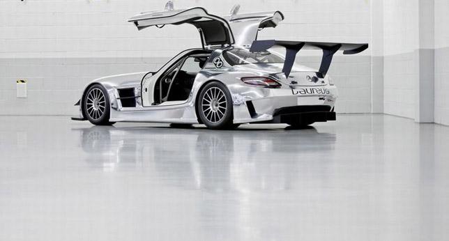 Mercedes Benz SLS AMG GT 3 Racer 04